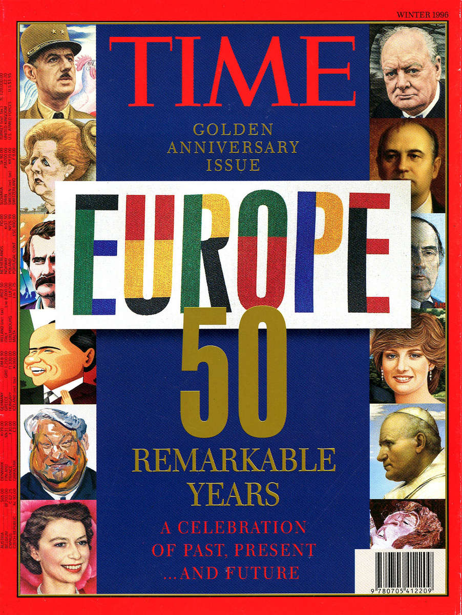 Client: Time Europe Topic: 50th Anniversary IssuePhoto Editor/Photo Researcher: Paula Gillen