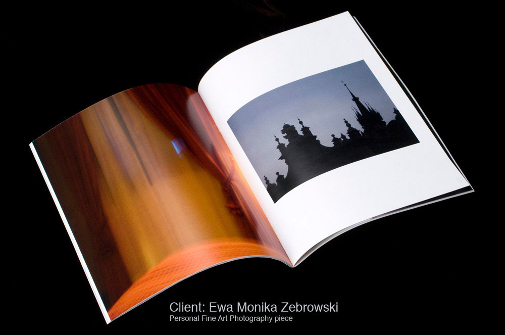 Interior Spread: Remembering & Forgetting by Ewa Monika Zebrowski, Design and Photo Editng Paula Gillen