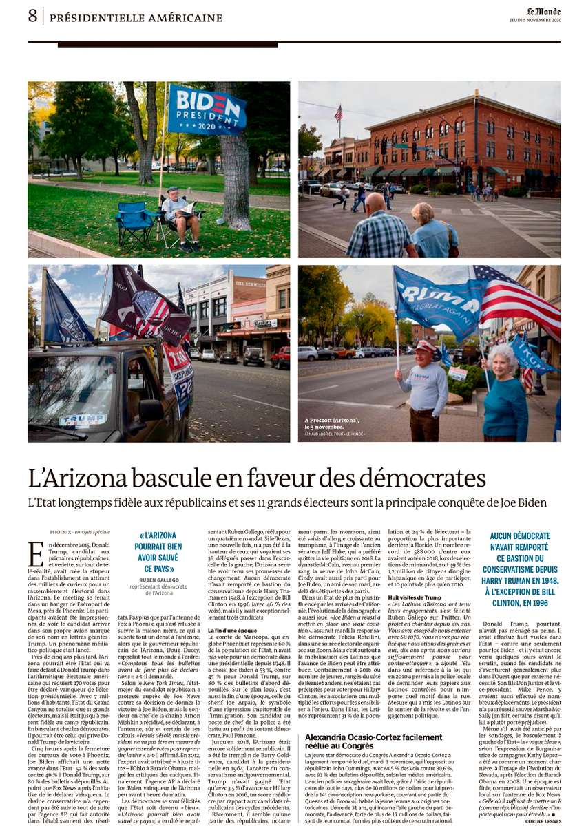 Assignment for Le Monde