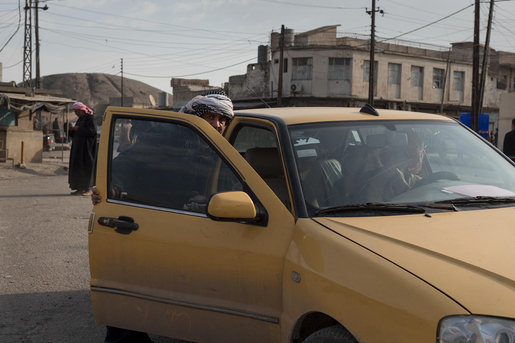 Street scene in Hammam al-Alil, Iraq on Jan. 8, 2017.