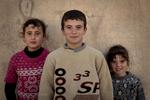 Kids in the street. Mosul, Iraq on Jan. 6, 2017.