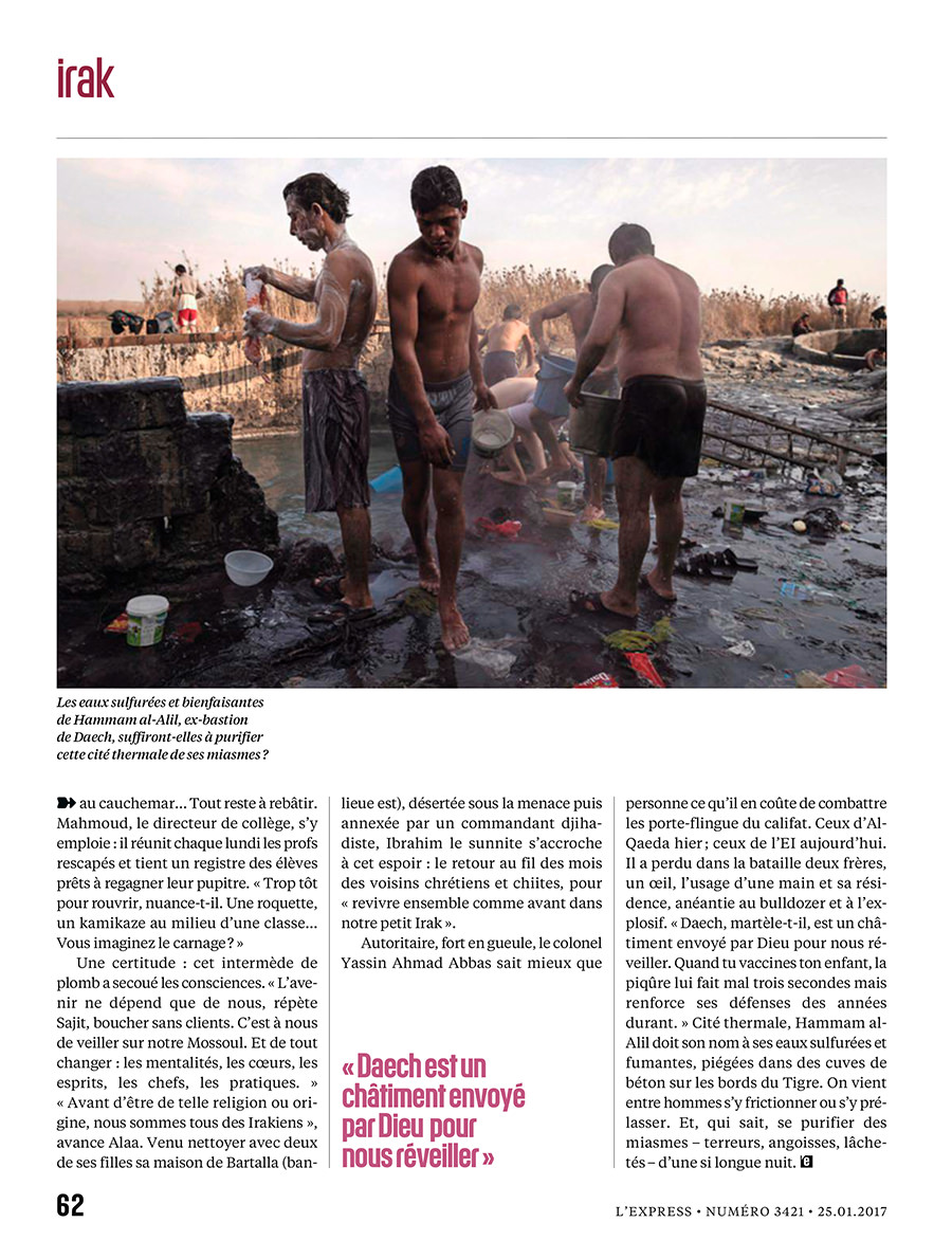 Assignment for L'Express