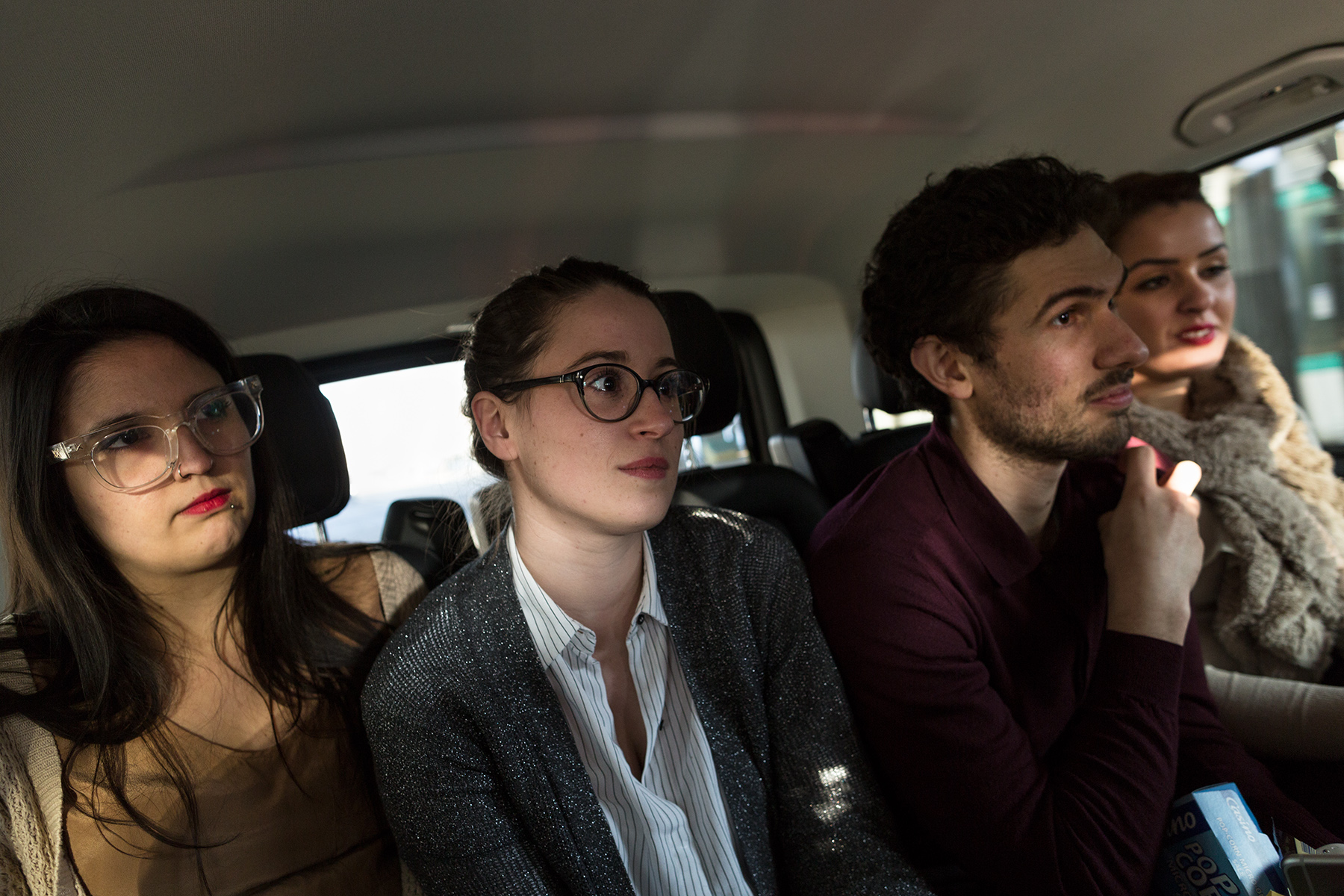 Uber | Withings Partnership CampaignShot for Uber France© Arnaud Andrieu 2016