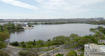 Tidal Basin, Jefferson Memorial, Washington DC, U.S. April 12, 2020. 10:20:24 AM PST