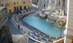 Fontana di Trevi, Rome, Italy. April 12, 2020, 8:37:49 AM PST