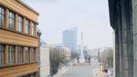 Freedom Monument, Riga, Latvia. April 12, 2020, 8:32:30 PM PST
