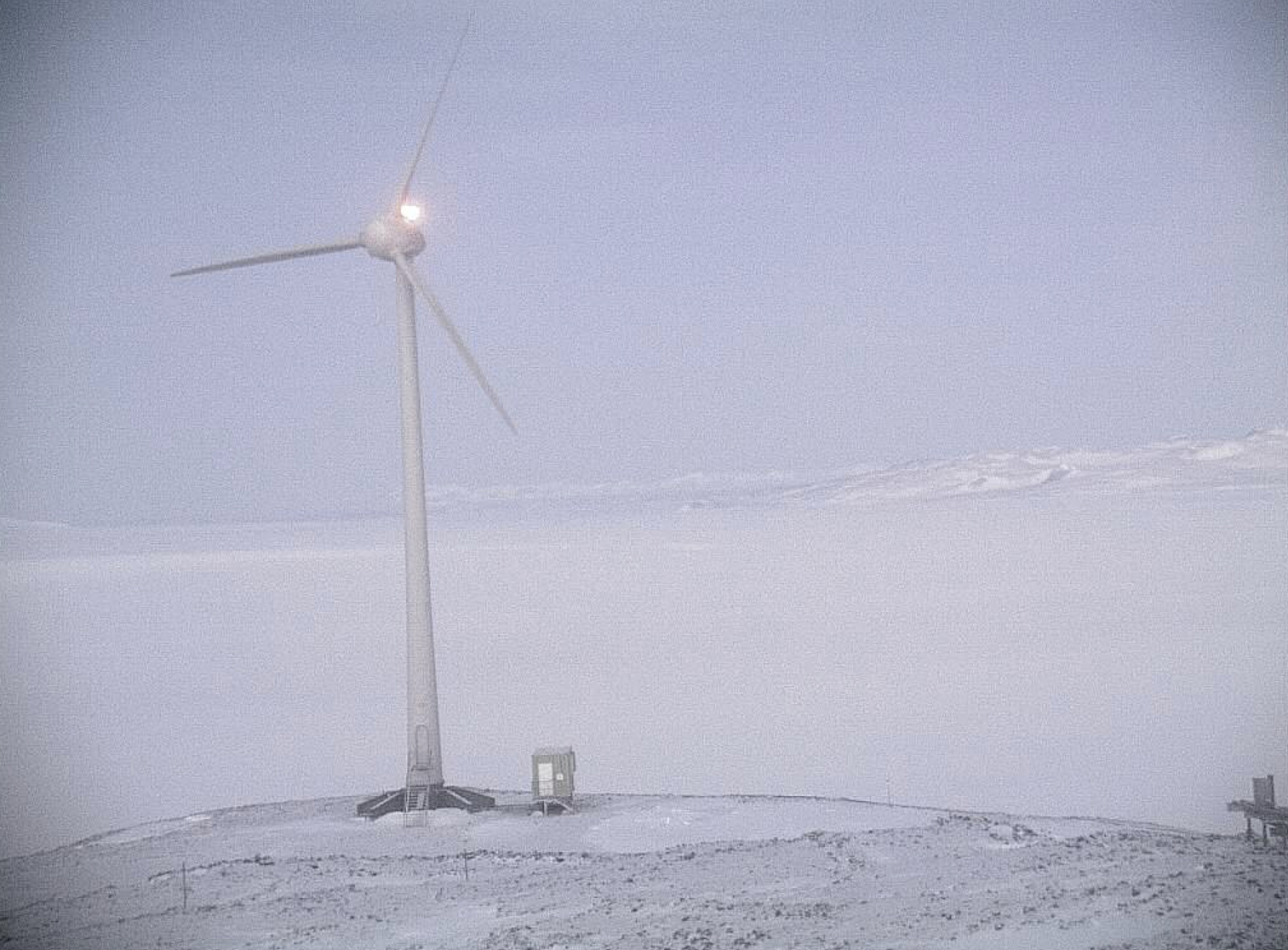 Ross Windmill Farm, Antarctica. May 7, 2020, 5:17:26 pm PST