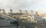 Windmills, Mykonos, Greece. May 2, 2020, 9:59:13 PM PST