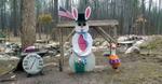 Snowman Cam, Gaylord, Michigan. April 12, 2020. 10:13:38 AM PST
