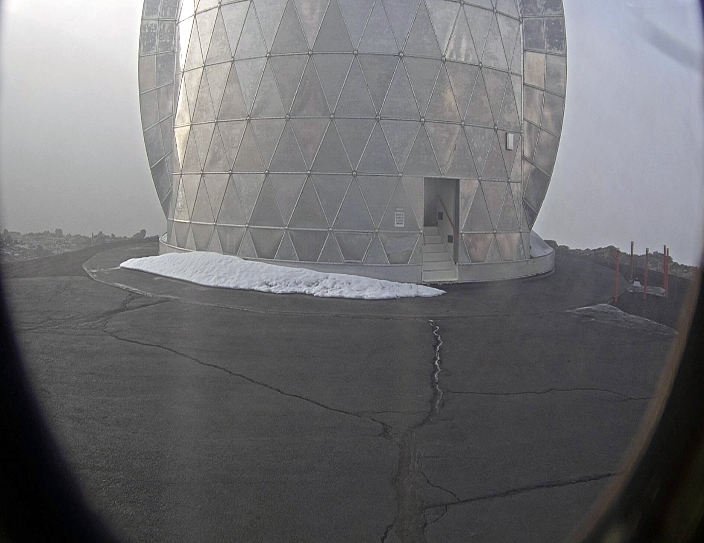 Caltech Submillimeter Observatory on Mauna Kea, Hawaii, Hawaii. April 14 2020, 10:14:58 AM PST