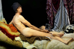 "From my earliest thoughts about Ingre's Grand Odalisque, I knew that I needed a white male photojournalist for this photo; I knew that I wanted to comment on the othering perpetuated by the white male gaze of my industry for decades. This was my response to learning that Ingres' Odalisque, painted in 1814, was used to justify French colonialism -- an othering of peoples in the Near East and North Africa as a way of {quote}proving{quote} that they desperately needed France's {quote}civilizing{quote} authority. It's something that photojournalism, unfortunately, has done for a long, long time – justified a white, male Western point of view which has ""othered"" women and people and cultures of color.In May 2019, in Sarajveo, at the annual general meeting of my photo agency, VII Photo, I asked my colleague Christopher Morris to pose for me, and he agreed, with some trepidation. Chris was a natural choice for me. There are connections between us. He covered the war in Bosnia; I covered the aftermath. The photo I made was also my invitation to him, to engage in a dialogue between artists about nudity and representation and who does the gazing.And we were in Bosnia, which was an important part of the Ottoman Empire – the very era which also prompted Ingres' painting and ""othering"" of cultures France sought to bring under its subjugation. This was the place to make the photo, and Chris was the perfect model.I'm weary as I write this. It's the summer of 2019 and it's America, and the president of the United States (I will not use his name in the same sentence as the word ""president"") others some one or some group of people with almost every tweet he makes, almost every time he opens his mouth. White, male, western power – and the power of naming.But we're fighting back, and women are leading the way. Power is shifting, slowly but surely, and I believe images can help move that story forward. I am weary, as I said, but I am hopeful."
