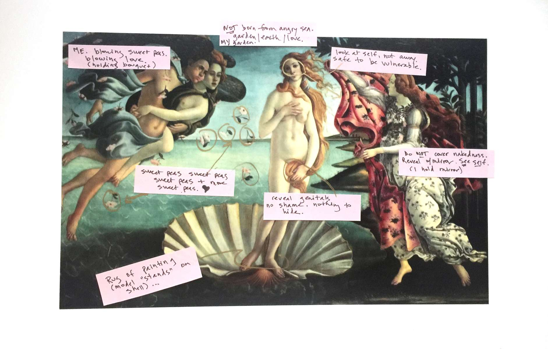 (Re)Thinking the Birth of Venus (Annotated)
