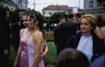 High school girls pose for a picture on prom night in the town of Bjeljina, where \{quote}ethnic cleansing\{quote} began in April 1992. Serbian paramilitary forces and local Serbs attacked the city\'s Muslim community, killing some 500 people and forcing the rest of the Muslim population to flee. Few Muslims have returned to the city, which is in the northeastern part of the country, along the border with Serbia.