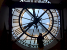 Famous clock-tower, Musee D'Orsay, Paris, France