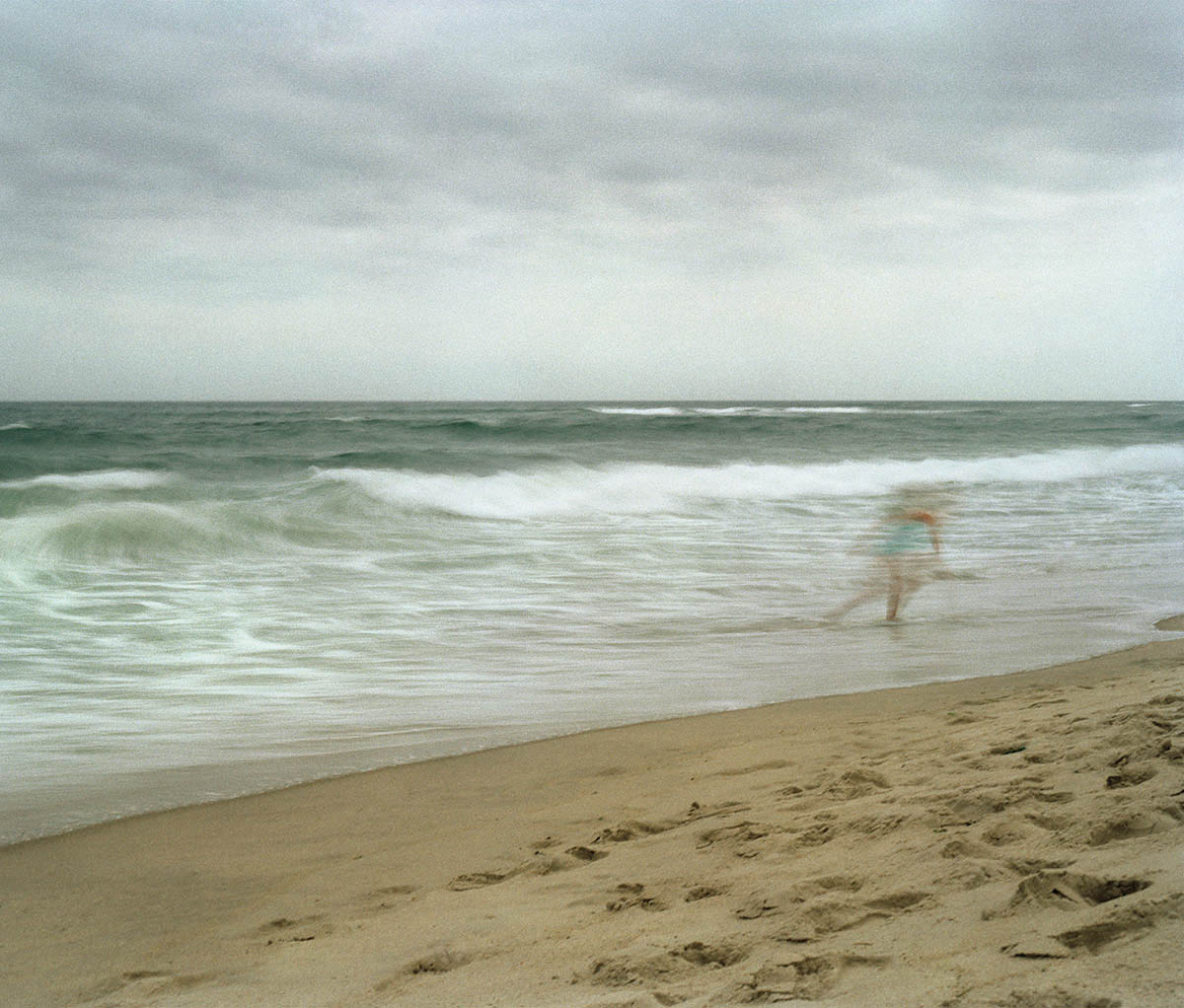 Girl on Beach, Montauk