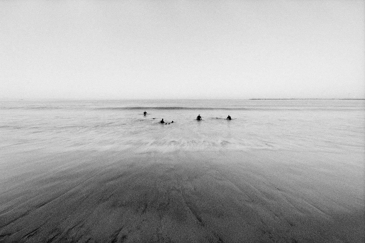 waterscape, fine art photographyMen in Water, NIN