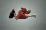 Girl in red dress, NIN