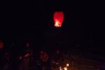 Lantern aloft.
