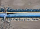 bonneville salt flats drainage canal