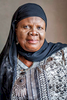 Aicha Basue Bingendeshe, known fondly as {quote}Mama Aicha,{quote} is president of the faith-based organization, Maman Ansar or {quote}Warrior women.{quote} Mama Aicha works to raise knowledge and awareness in DRC's Muslim community about the importance of family planning and the options available. September, 2016.
