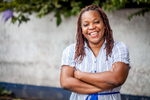 Francoise Mukuku is president of Si Jeunesse Savait, a Congolese youth advocacy organization and PAI partner. Francoise has been working on youth issues in DRC for several years, including sexual health, economic justice and rights. September, 2016.
