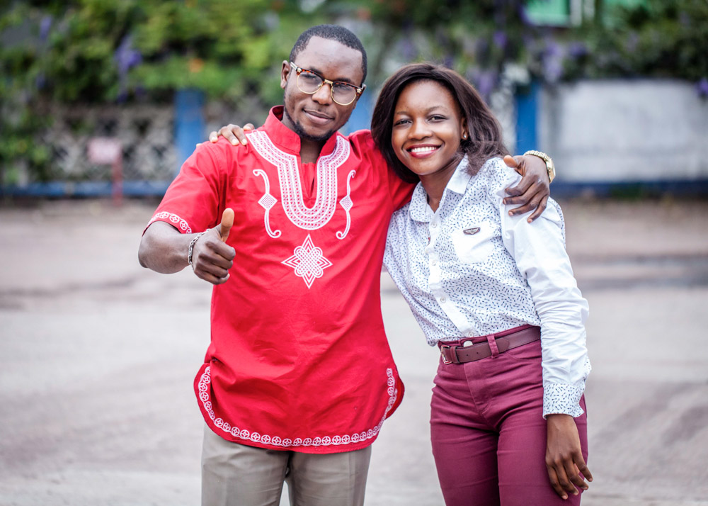Brady Bilala and Marie Musifu, who work for Association de Bien-Etre Familial in Kinshasa, are two Congolese advocates leading the push for sexual reproductive rights for youth.