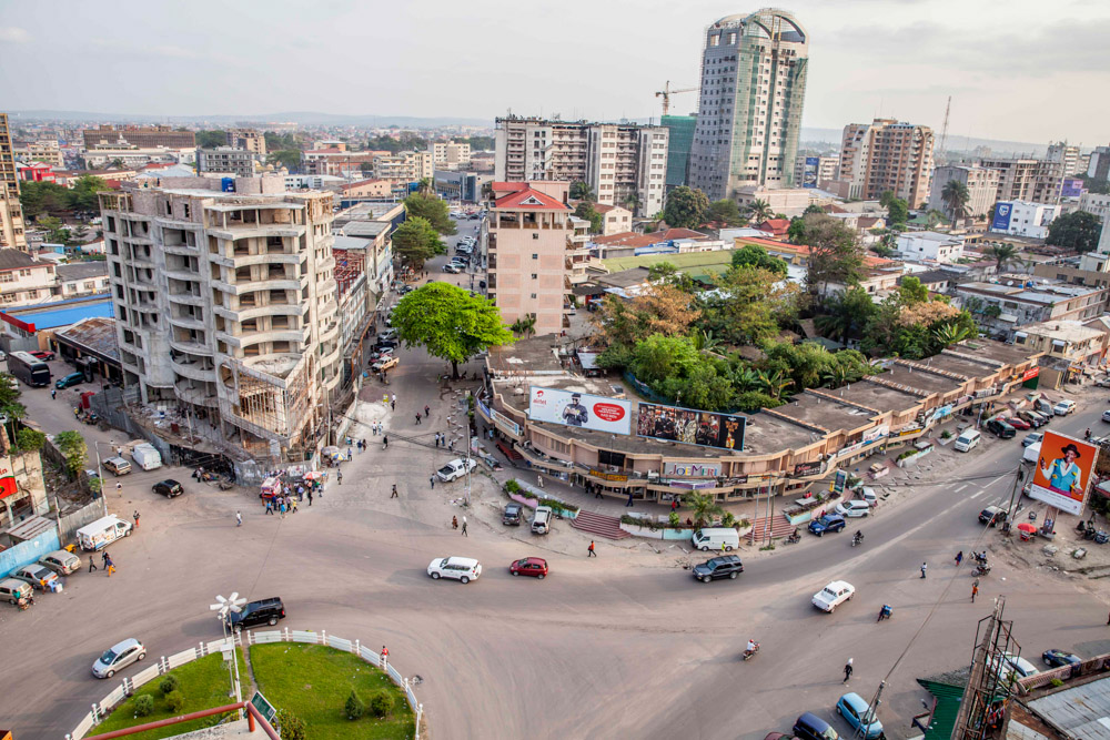 Downtown Kinshasa. September, 2016.