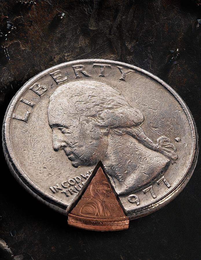 Quarter_Penny-pie