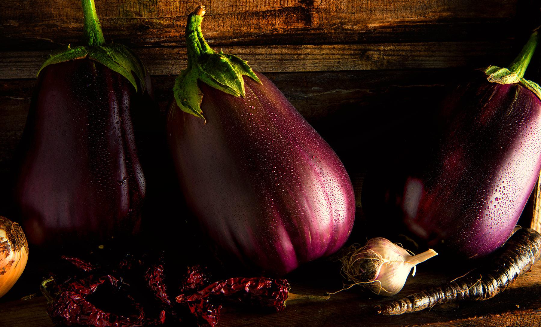 Eggplant-Carl Kravats Food Photography