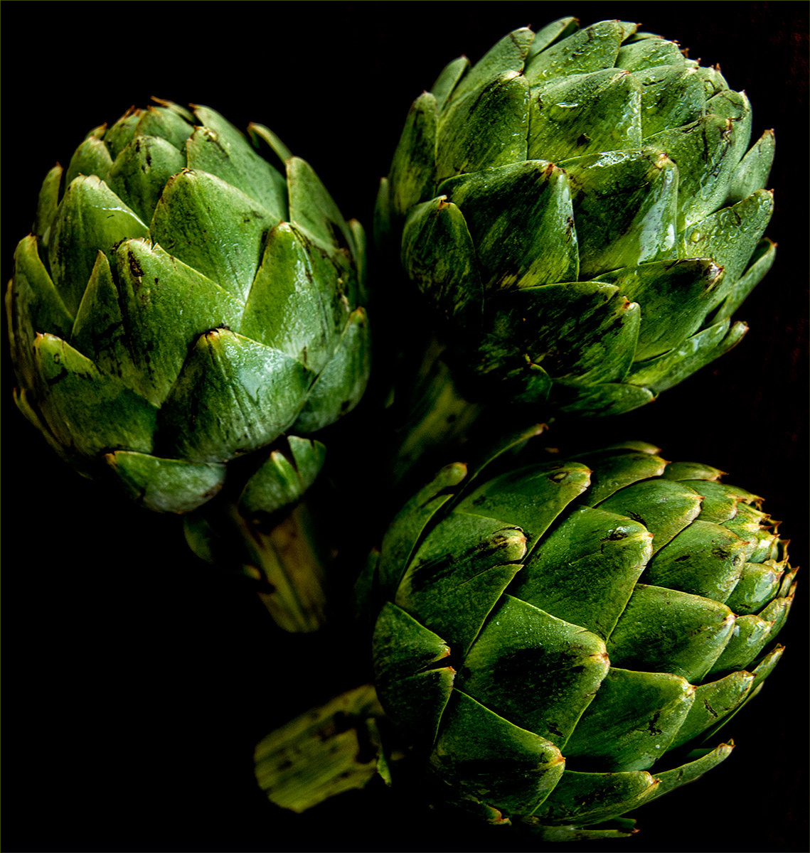 Artichokes-Carl Kravats Food Photography