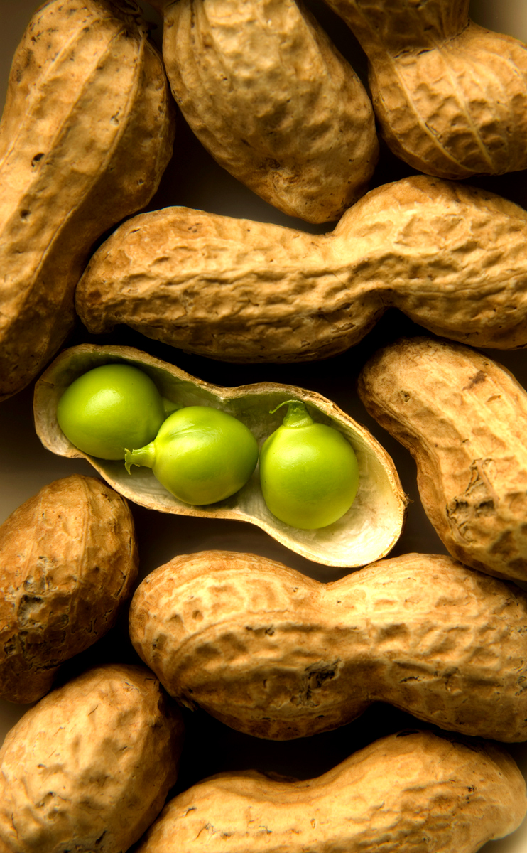 Peas and Peanuts-Carl Kravats Food Photography