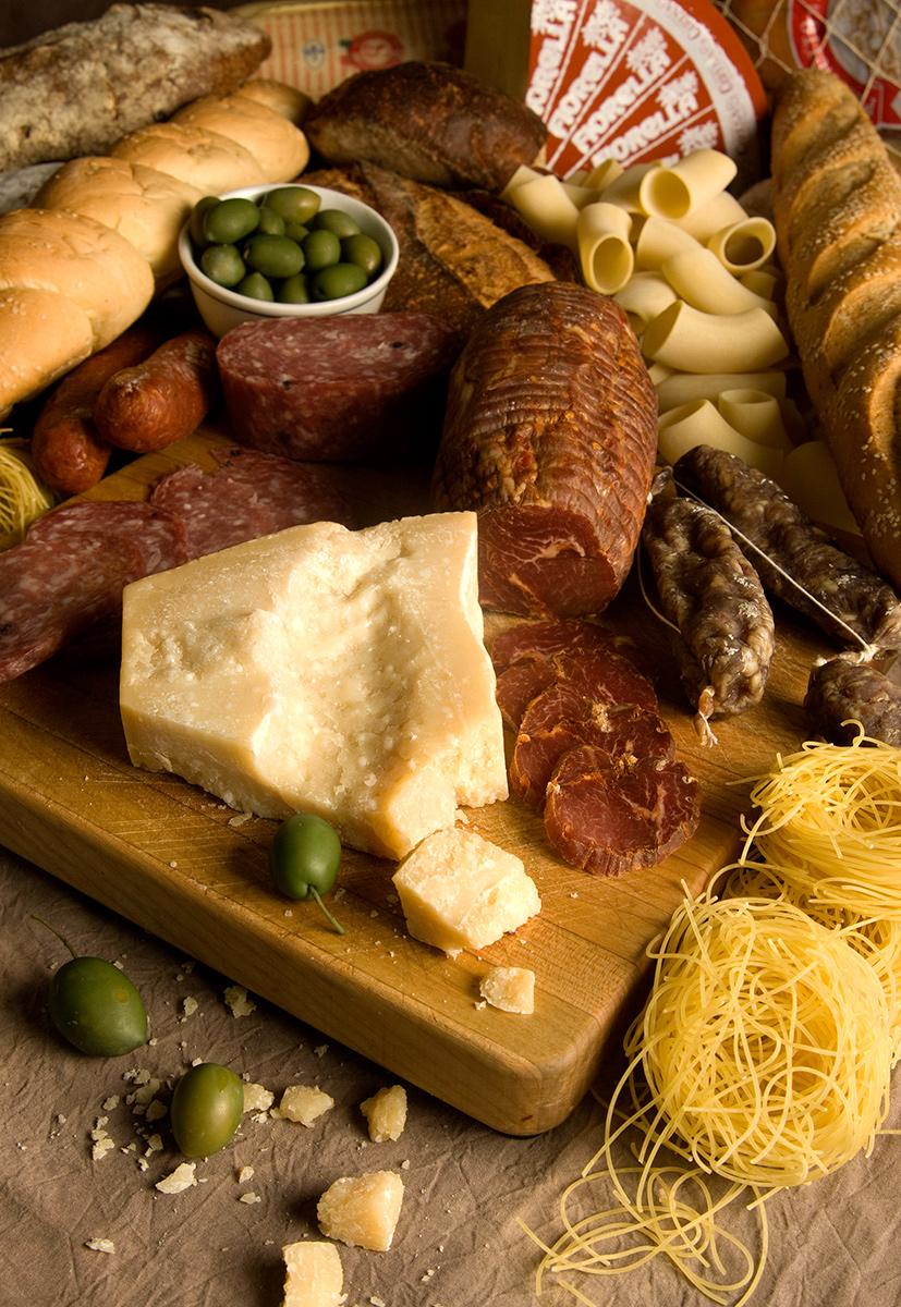 Italian cheese board-Carl Kravats food photographer