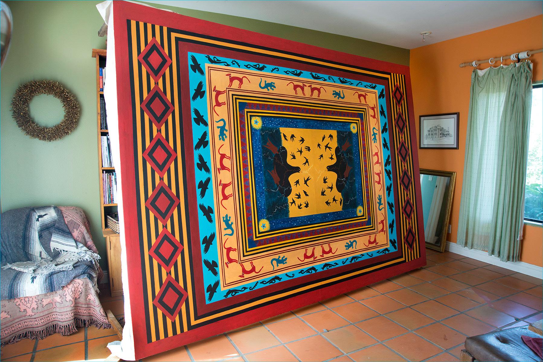 Floor-cloth