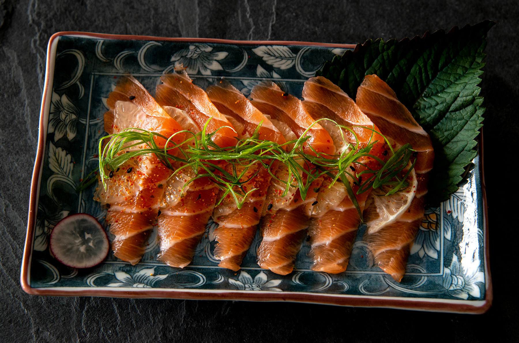 Lemon-Salmon-Sushimi