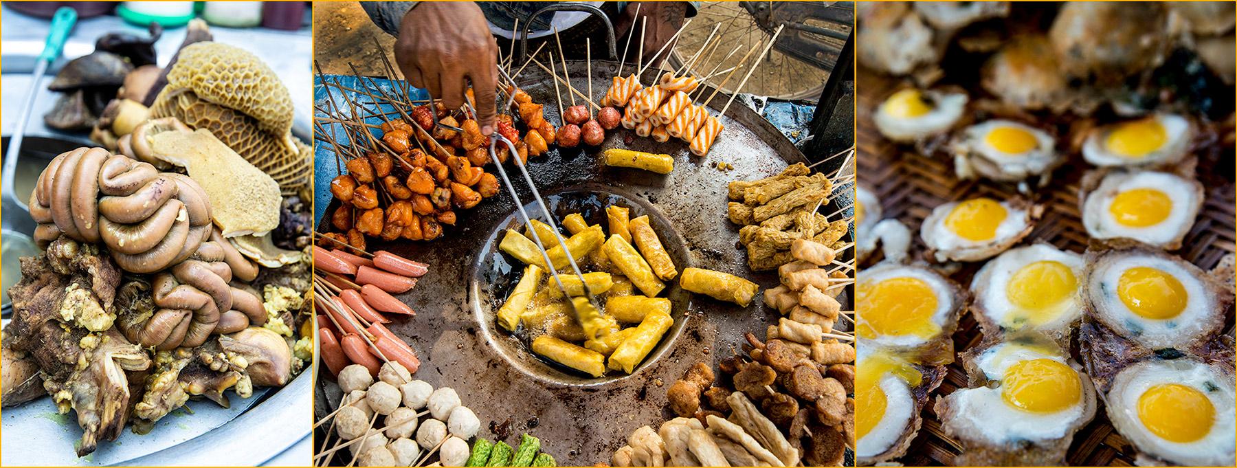 Myanmar: Street food