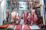 Oaxaca Mexico: Butcher from the Meat Market