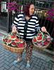 Romania: Berry sales lady