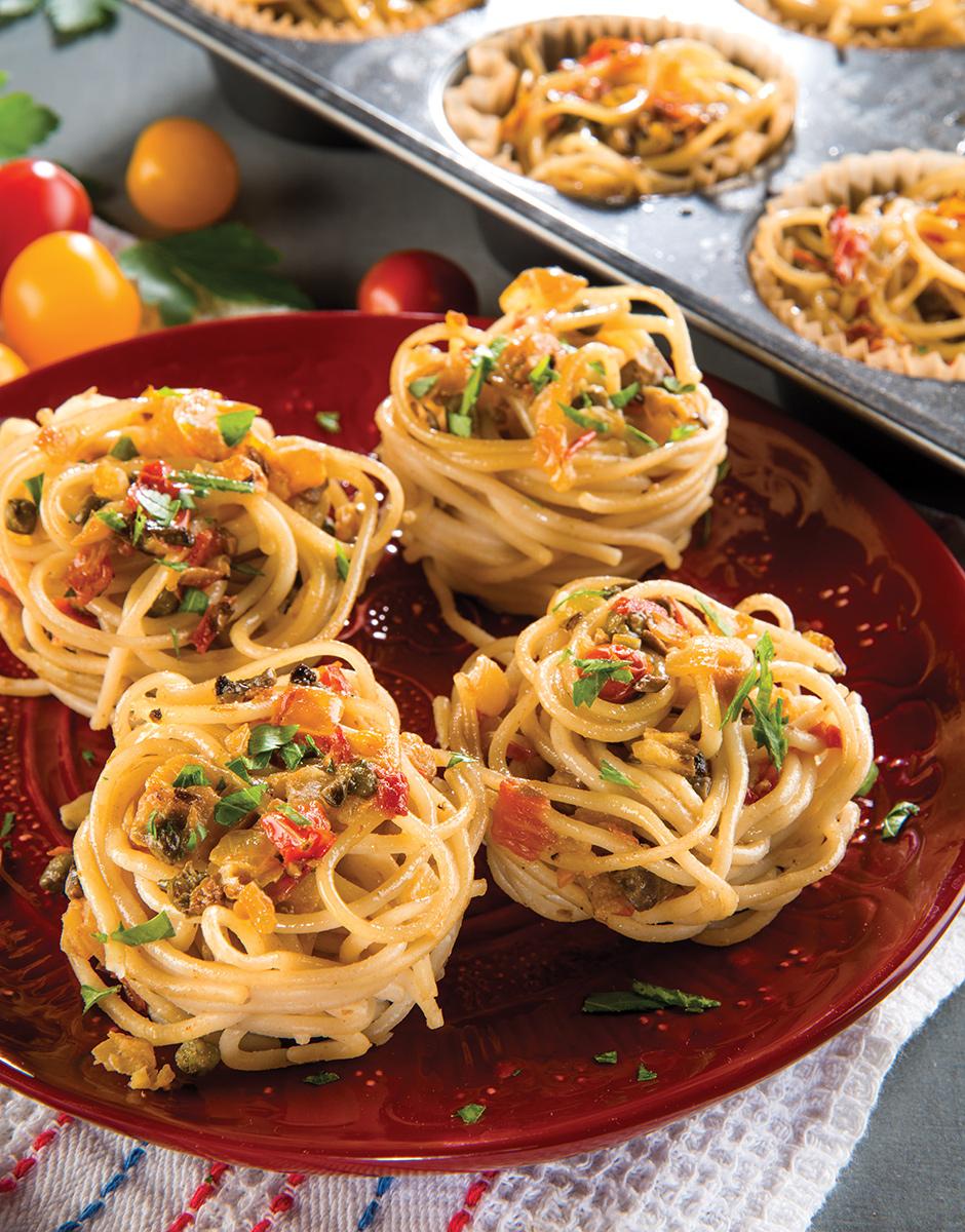 Spaghetti-Piccata-Twirl