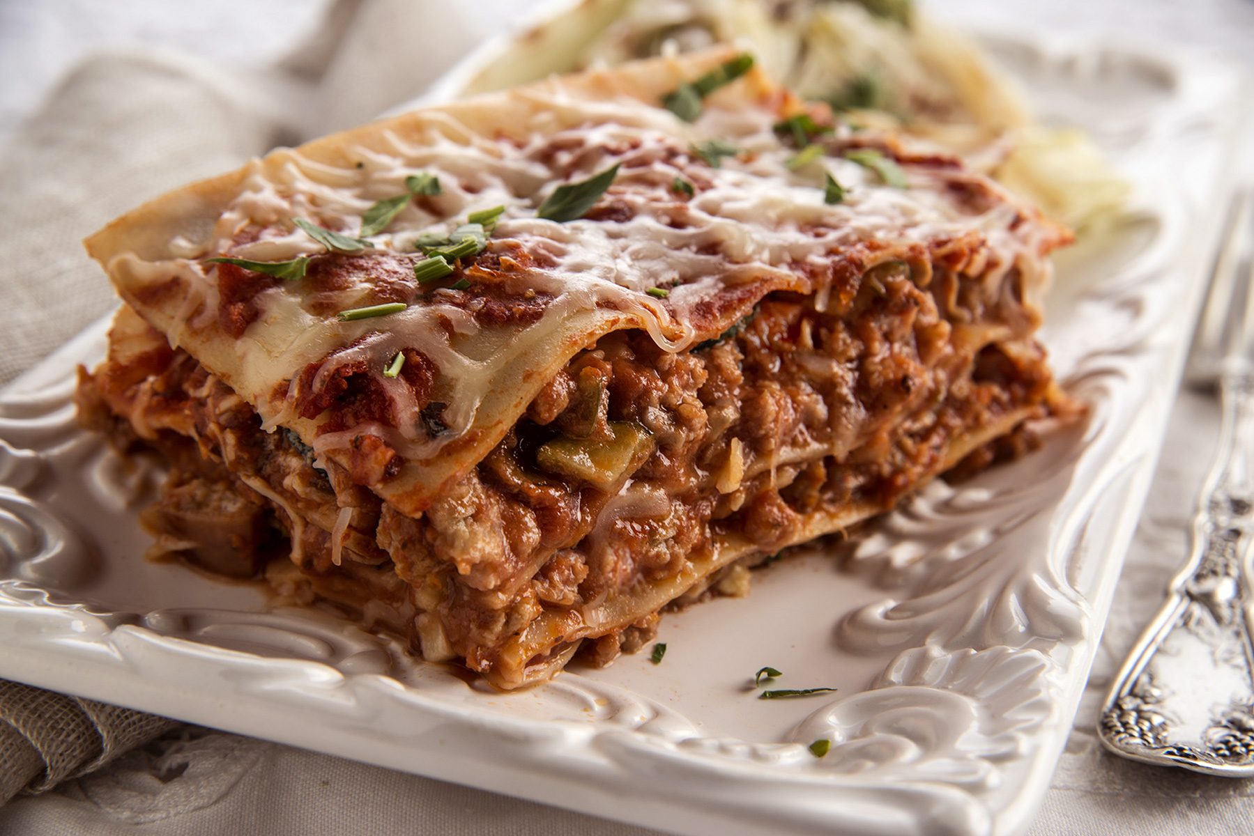 Veggie-packed-Lasagna