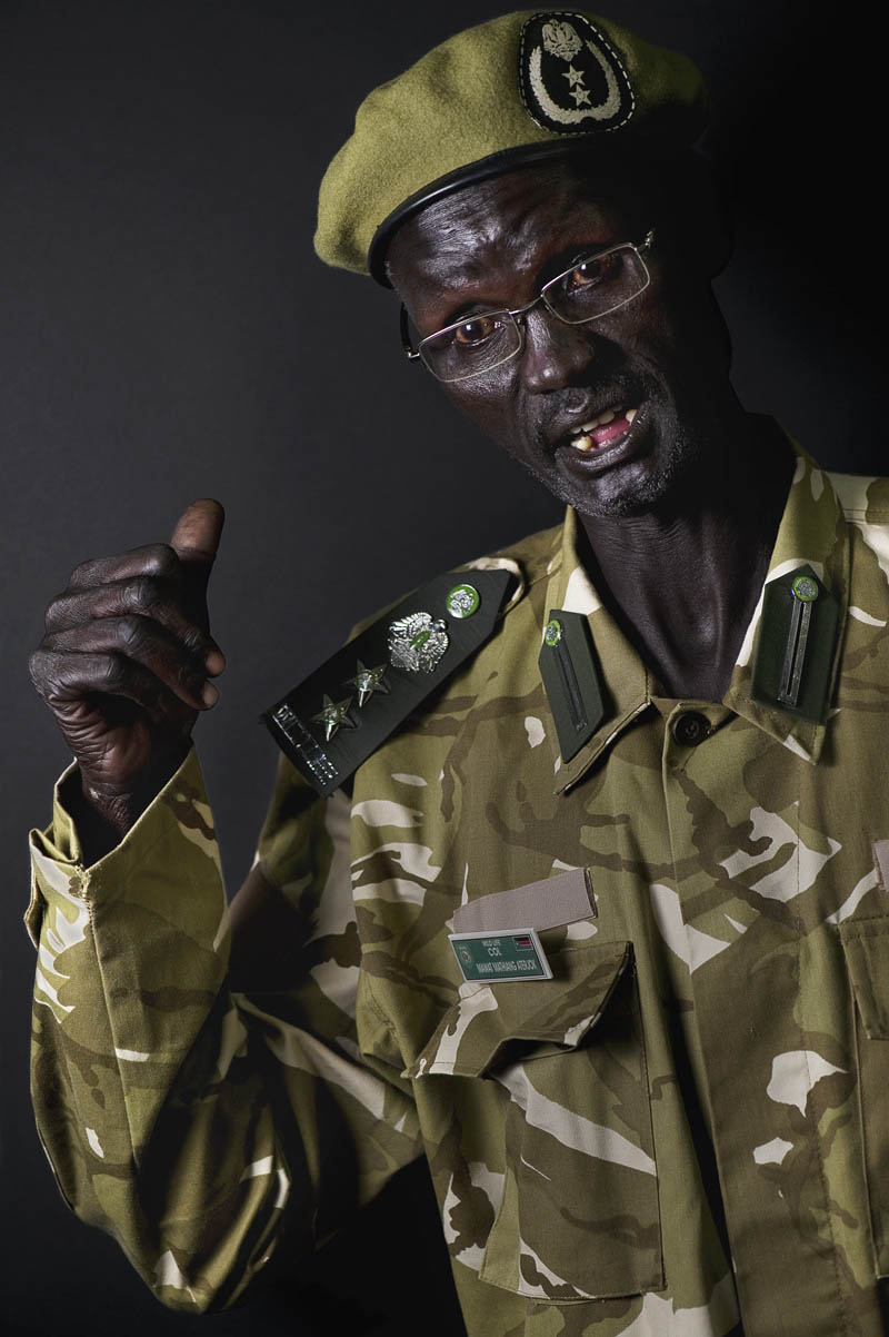 Col. Mawat Mathiang AterjokDinka (Jieng){quote}We were soldiers.  You cannot care about yourself…our aim it is one…We are now enjoying our resources and we are working hard to defend our territory.{quote}