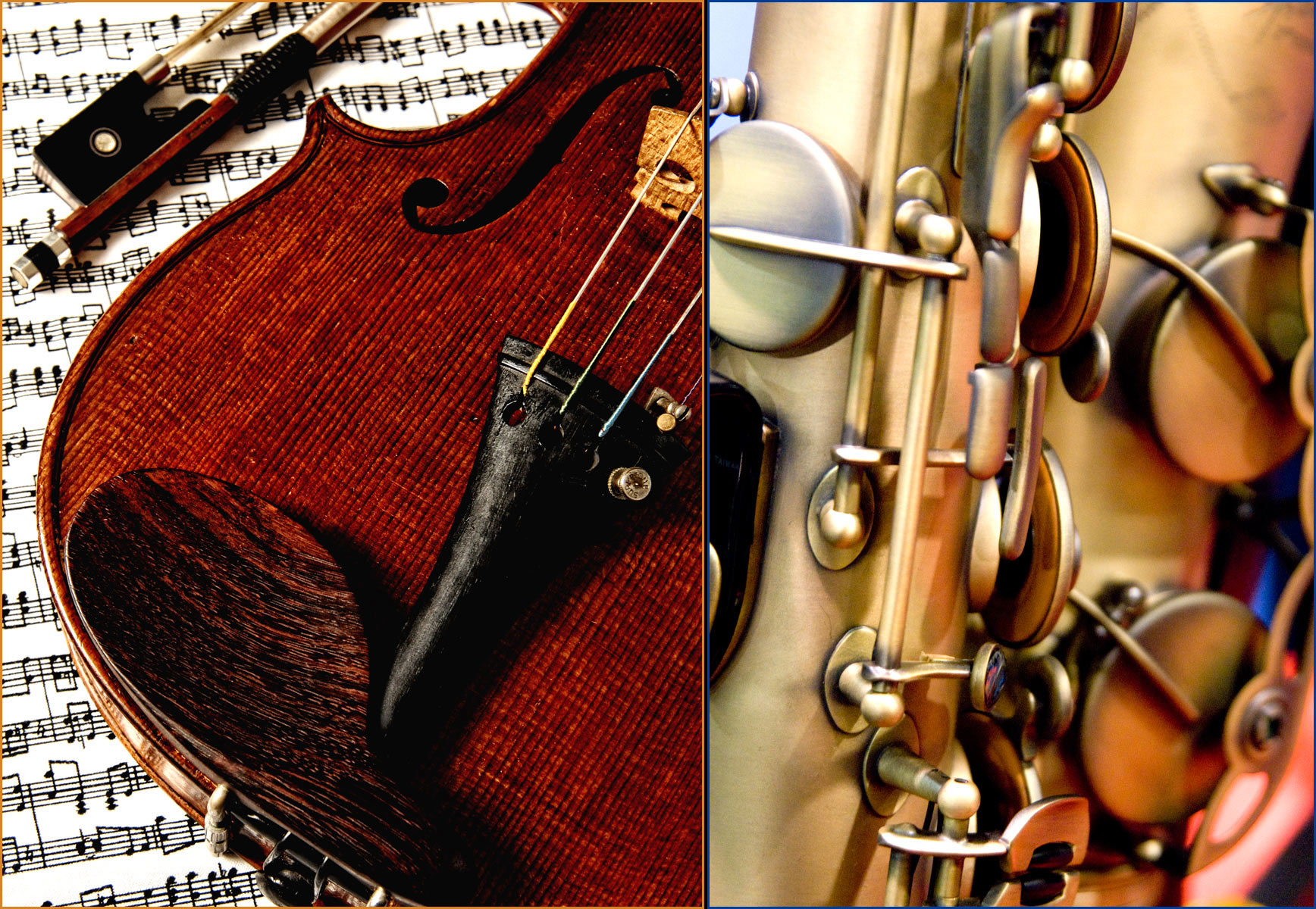 Violin Brass-Musicman Photography