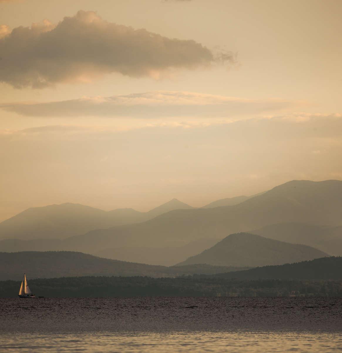 Adirondack Sail Sunset 1