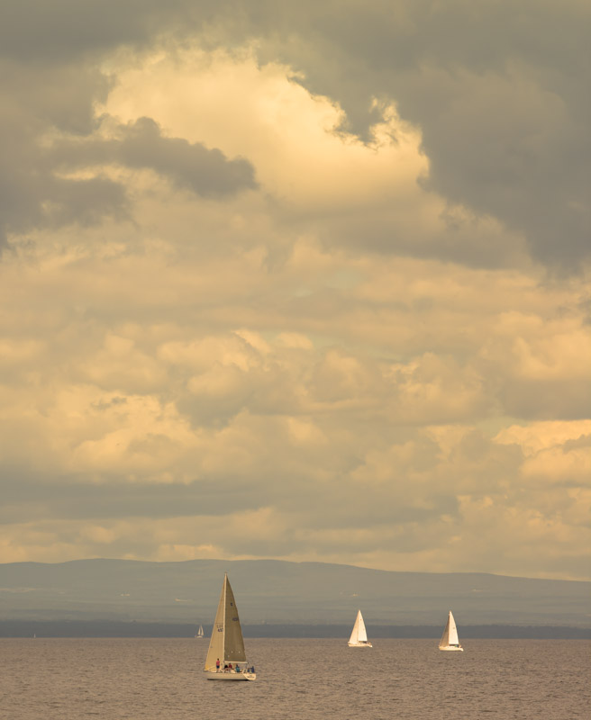 Clouds over Saturday Sail