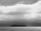 Sailboat and Juniper Island