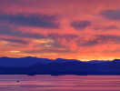 Over Lake Champlain