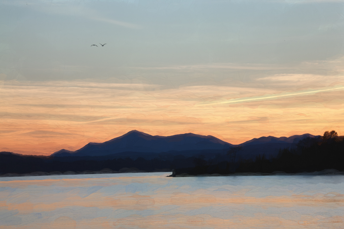 Lake Champlain, Malletts Bay, Vermont