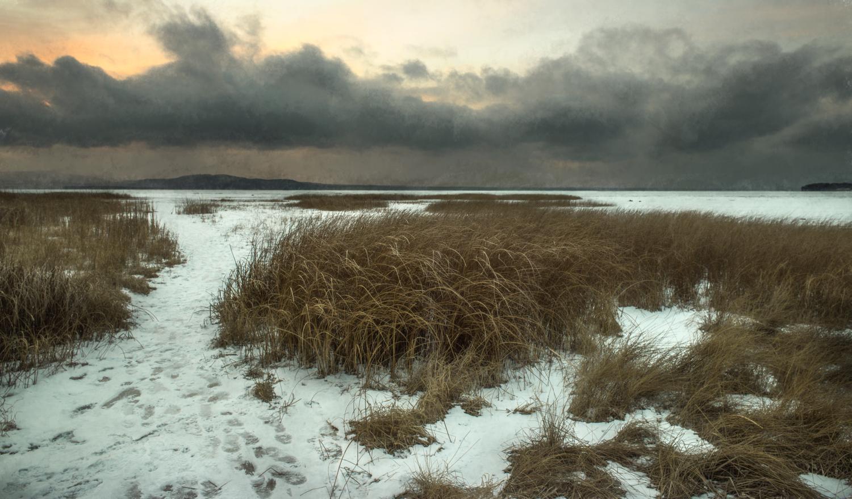 Where Winooski River meets Lake Champlain