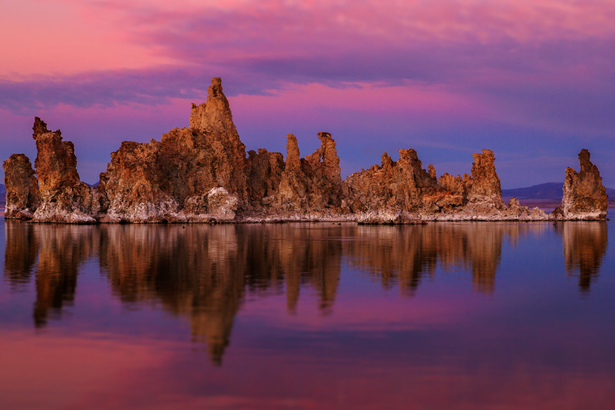 Mono Lake South Tufa at sunset November 17 2013
