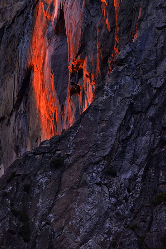Firefall Yosemite National Park, California