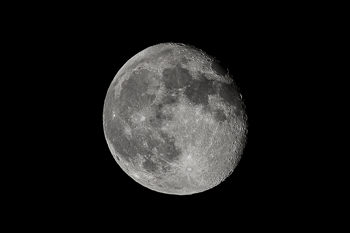 The Moon, Space